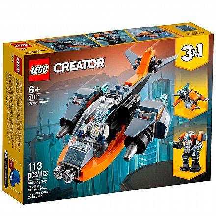 LEGO Creator 3 Em 1 - Ciberdrone - 31111