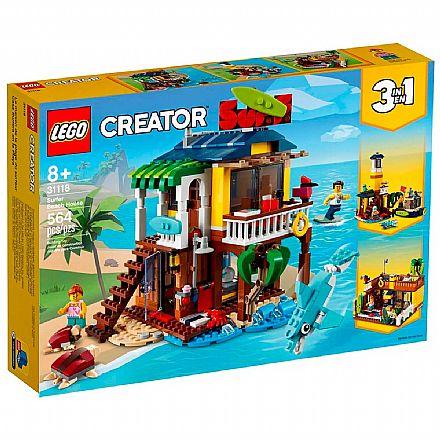 LEGO Creator 3 Em 1 - Casa da Praia de Surfista - 31118