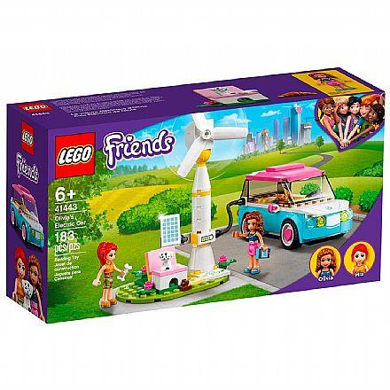 LEGO Friends - Carro Elétrico da Olivia - 41443