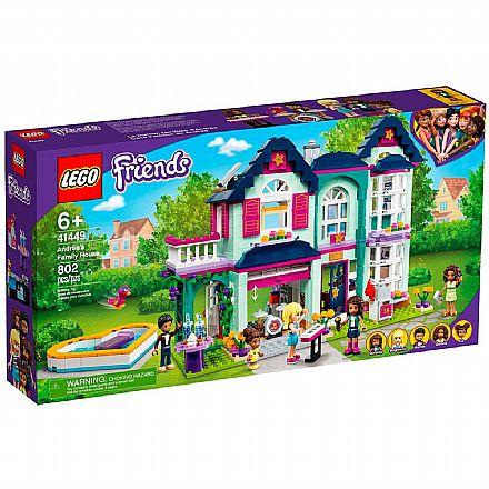 LEGO Friends - Casa da Família de Andrea - 41449