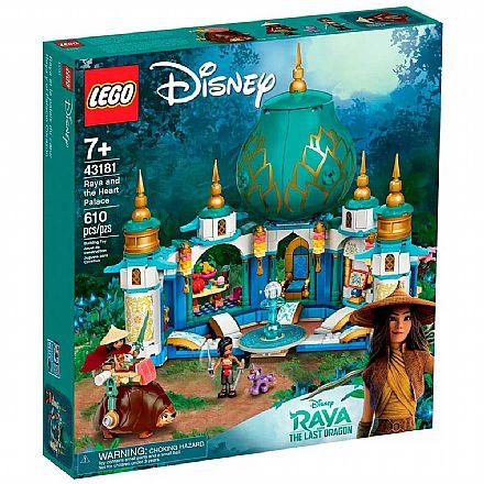 LEGO Disney - Raya e o Palácio Coração - 43181