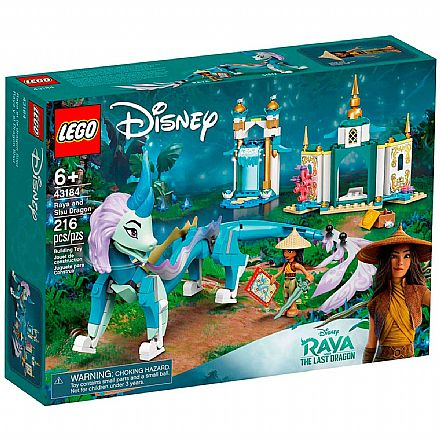 LEGO Disney - Raya e o Dragão Sisu - 43184