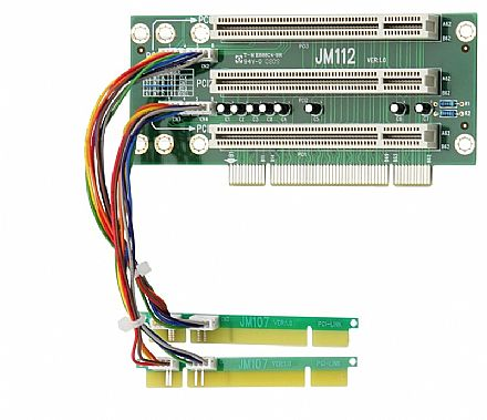 Placa Expansora Riser Card Nilko - Capacidade para até para 3 PCIs Comuns
