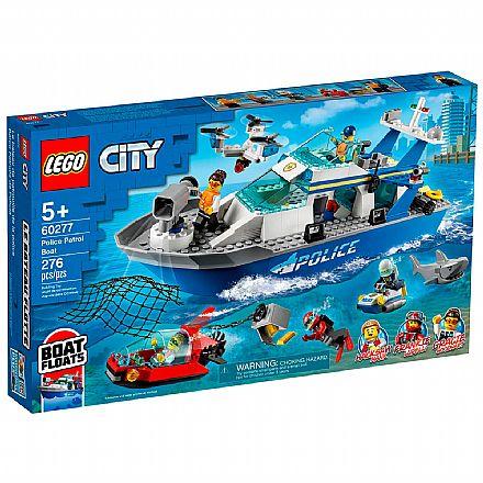 LEGO City - Barco da Patrulha da Polícia - 60277