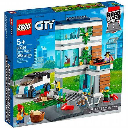 LEGO City - Casa de Família Moderna - 60291