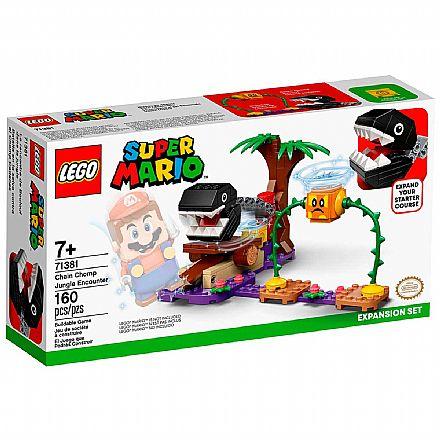 LEGO Super Mario - Confronto na Selva com a Corrente Dentada - Pacote de Expansão - 71381