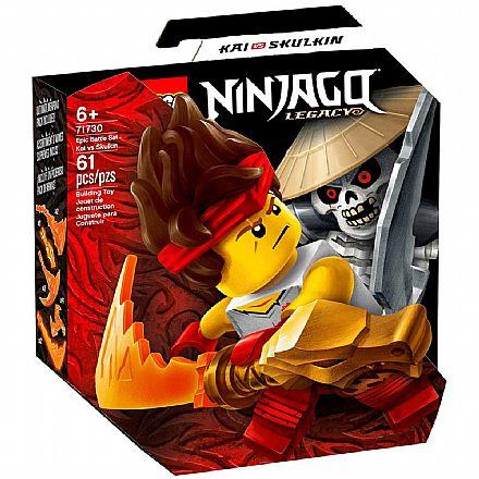 LEGO Ninjago - Conjunto de Combate Épico - Kai vs Skulkin - 71730