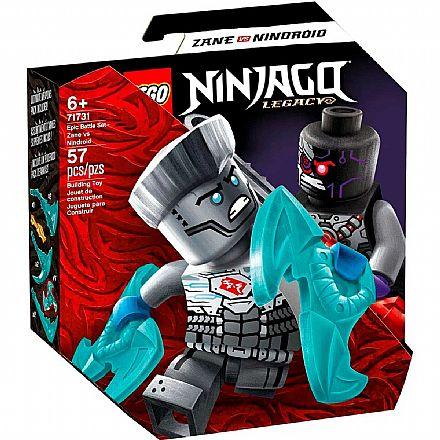 LEGO Ninjago - Conjunto de Combate Épico - Zane vs Nindroid - 71731