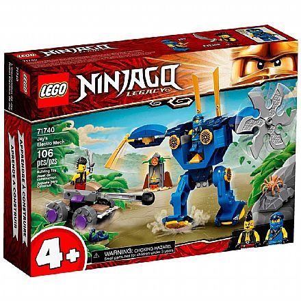 LEGO Ninjago - O ElectroMech de Jay - 71740