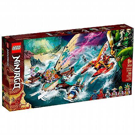 LEGO Ninjago - Combate Naval de Catamarã - 71748