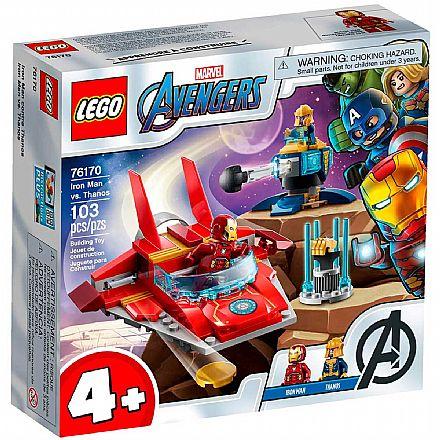 LEGO Super Heroes Marvel - Vingadores: Homem de Ferro contra Thanos - 76170