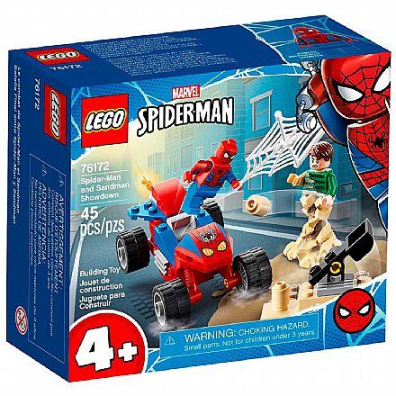 LEGO Super Heroes Marvel - Confronto do Homem-Aranha e do Homem-Areia - 76172