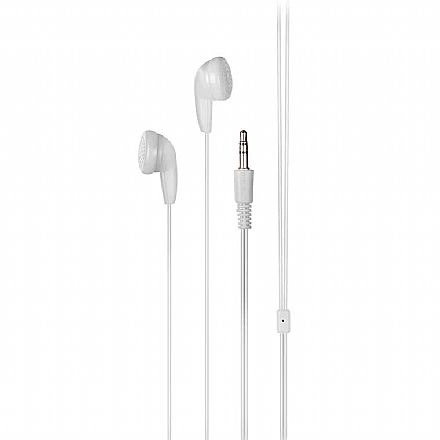 Fone de Ouvido Multilaser Play - Branco - PH313