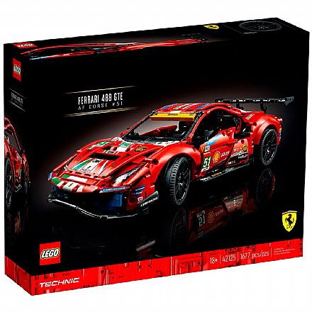 LEGO Technic - Ferrari 488 GTE AF Corse #51 - 42125