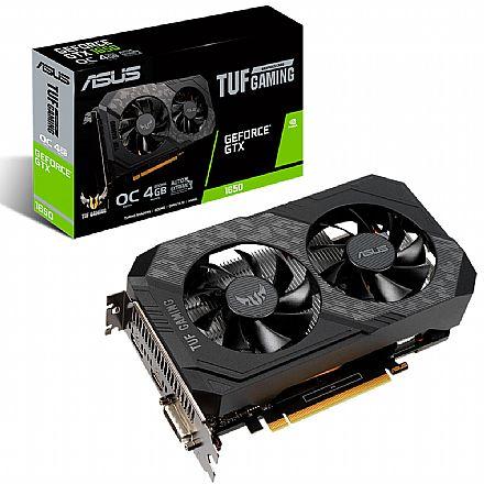 GeForce GTX 1650 4GB GDDR6 128bits - Asus TUF Gaming OC Edition TUF-GTX1650-O4GD-GAMING