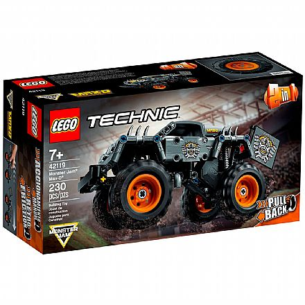 LEGO Technic 2 Em 1 - Monster Jam® Max-D® - 42119