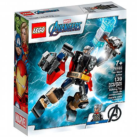 LEGO Super Heroes Marvel - Armadura Robô do Thor - 76169