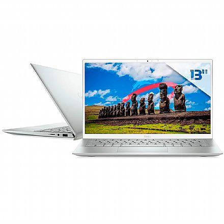 "Notebook Dell Inspiron i13-5301-M10S Ultrafino - Tela 13.3"" Full HD, Intel i5 1135G7, 8GB, SSD 256GB, Windows 10 - Prata - Outlet"