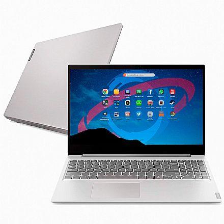 "Notebook Lenovo Ideapad S145 - Tela 15.6"", Intel i3 8130U, RAM 4GB, HD 1TB, Linux - 81XMS00000"