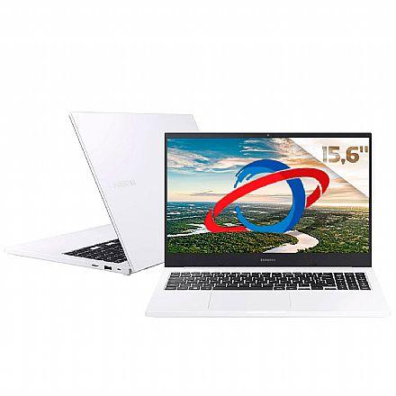 """Notebook Samsung Essentials E30 - Tela 15.6"""" Full HD, Intel i3 10110U, 16GB, HD 1TB, Intel UHD Graphics, Windows 10 - Branco - NP550XCJ-KT2BR"""