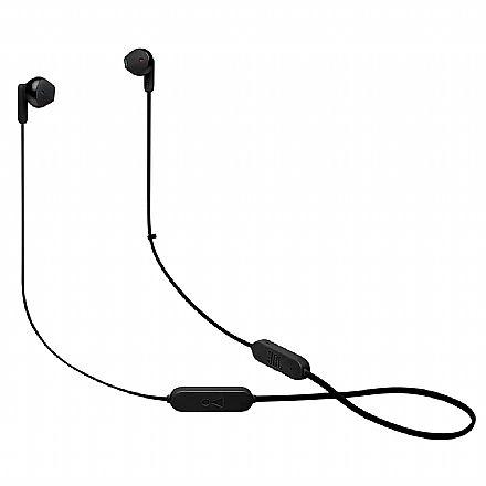 Fone de Ouvido Bluetooth JBL Tune 215BT - Intra-auricular - Controle de Volume e Microfone - JBLT215BTBLK