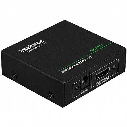 Multiplicador de Vídeo - Vídeo Splitter - 2 saídas HDMI - Intelbras VEX 1002 Divisor - 4K
