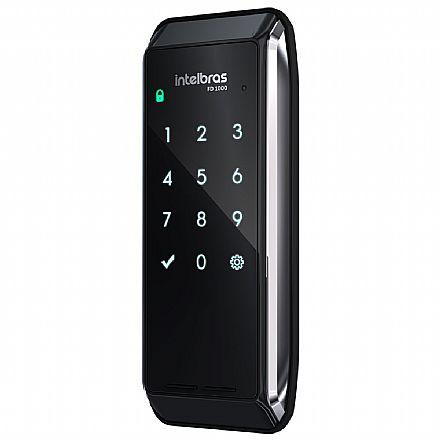 Fechadura Digital Intelbras FD 1000 - Sobrepor - Teclado Touchscreen - Sistema Anti-Violamento