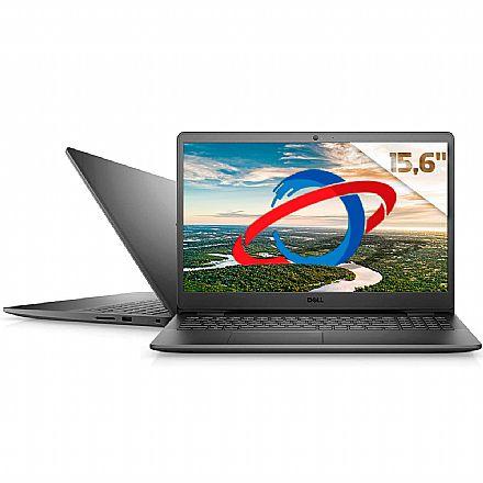 "Notebook Dell Inspiron i15-3501-M46P - Tela 15.6"", Intel i5 1035G1, RAM 16GB, SSD 256GB + HD 2TB, Windows 10 - Preto"