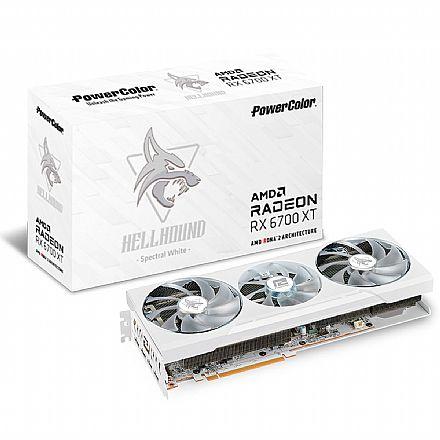 AMD Radeon RX 6700 XT 12GB GDDR6 192bits - Power Color Hellhound 12GBD6-3DHLV2