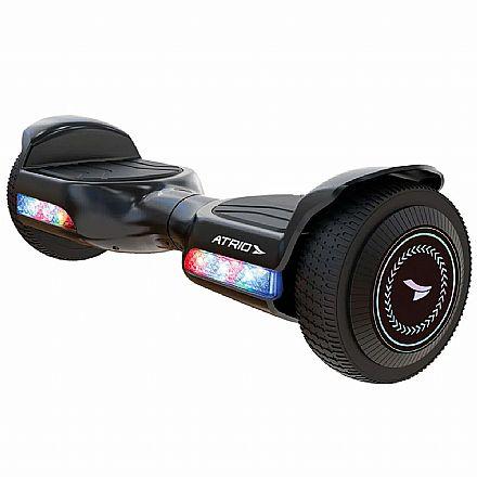 """Hoverboard 6,5"""" Atio Fun ES356 - Motor 260W - Bateria 2Ah - Velocidade até 10km/h - Autonomia 6km - Suporta até 100Kg"""