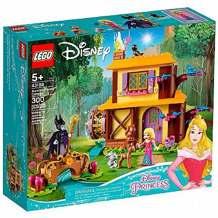 LEGO Disney Princess - Casa da Floresta de Aurora - 43188