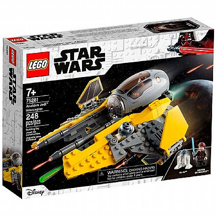 LEGO Star Wars - Interceptor Jedi™ de Anakin - 75281