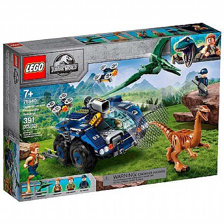 LEGO Jurassic World - Gallimimus e Pteranodonte: Missão de Recaptura - 75940