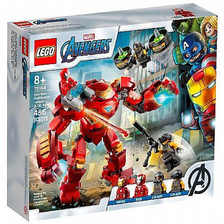 LEGO Super Heroes Marvel - Homem de Ferro Hulkbuster contra Agente A.I.M - 76164