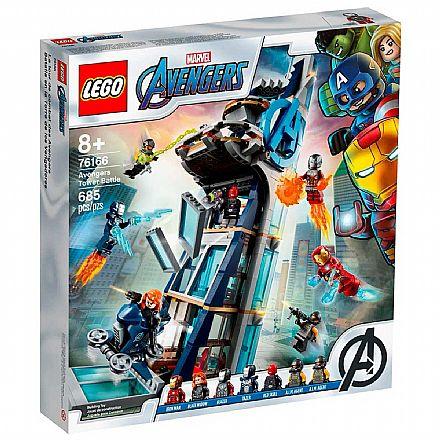LEGO Super Heroes Marvel - Combate na Torre dos Vingadores - 76166