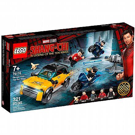 LEGO Super Heroes Marvel - Fuga dos Dez Anéis - 76176