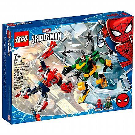 LEGO Super Heroes Marvel - Combate de Robôs: Homem-Aranha e Doutor Octopus - 76198