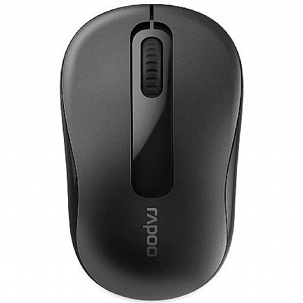 Mouse sem Fio Rapoo M10 - 1000dpi - RA007