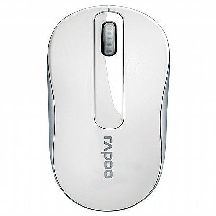 Mouse sem Fio Rapoo M10 - 1000dpi - Branco - RA008
