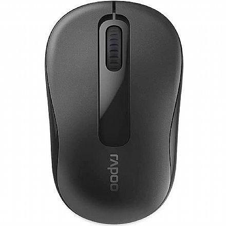 Mouse sem Fio Rapoo M100 - 1000dpi - Bluetooth e USB - RA009