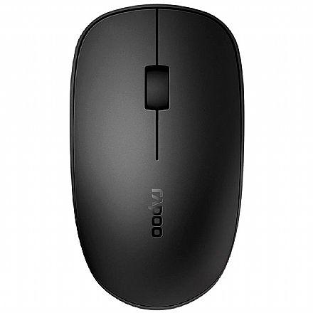 Mouse sem Fio Rapoo M200 - 1300dpi - Bluetooth e USB - RA011
