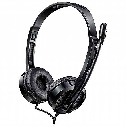Headset Rapoo H100 - com Microfone e Controle de Volume - Conector P2 - RA019