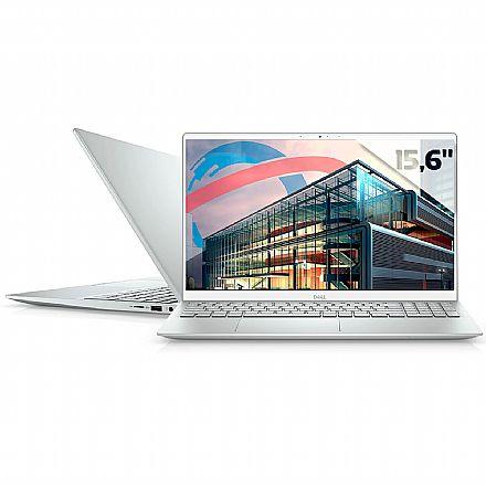 "Notebook Dell Inspiron i15-5502-M40S Ultrabook - Tela 15.6"" Full HD, Intel i7-1165G7, RAM 16GB, SSD 512GB, GeForce MX350, Windows 10 - Prata - Outlet"