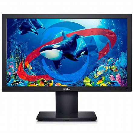 "Monitor 18.5"" Dell E1920H - HD - Suporte VESA - DisplayPort/VGA - Outlet - Garantia 90 dias"