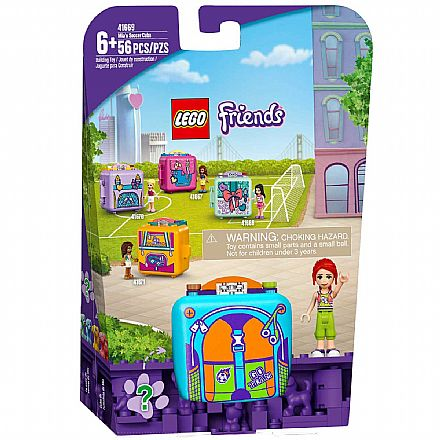 LEGO Friends - Cubo de Furebol da Mia - 41669