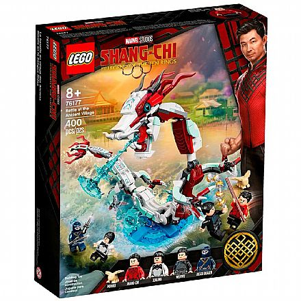 LEGO Super Heroes Marvel - Batalha na Vila Antiga - 76177