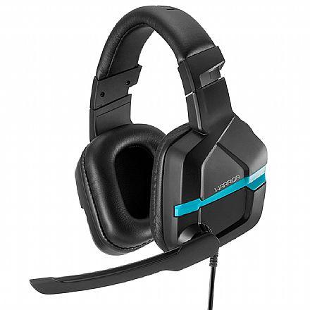 Headset Gamer Multilaser Warrior Askari PH292 - Microfone - Conector P2 - Compatível com PS4