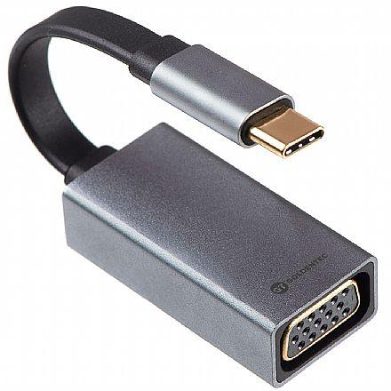 Adaptador Conversor USB-C para VGA - Goldentec 42317