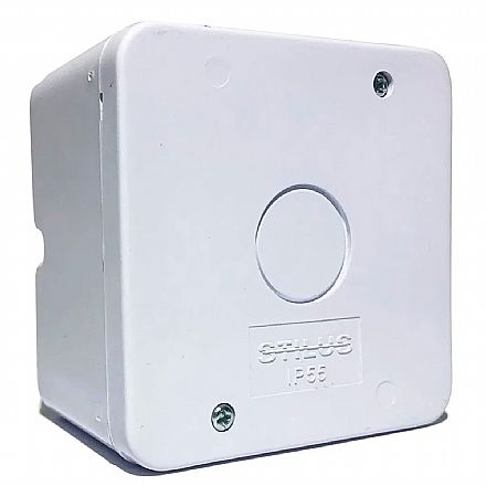 Caixa de Sobrepor CFTV Stilus - Branca