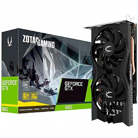 GeForce GTX 1660 6GB GDDR5 192bits - Zotac Gaming ZT-T16600M-10M